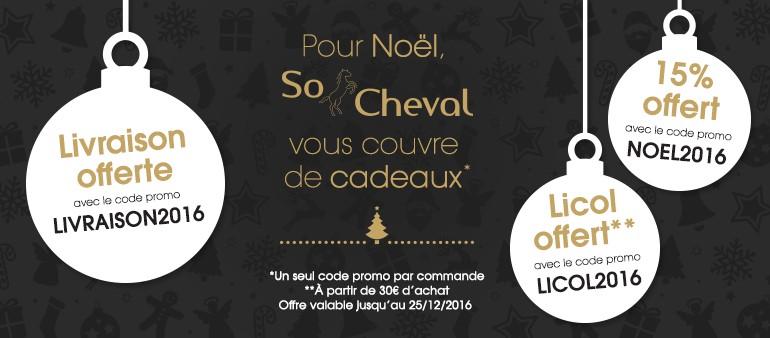 So Cheval vous couvre de cadeaux !
