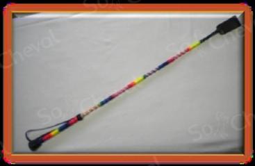 Cravache polycolor