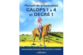 Galops Cavalier 1 à 4, degrés 1