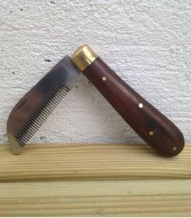 Peigne couteau
