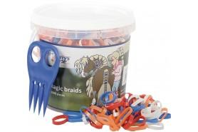 Magic braids, seau