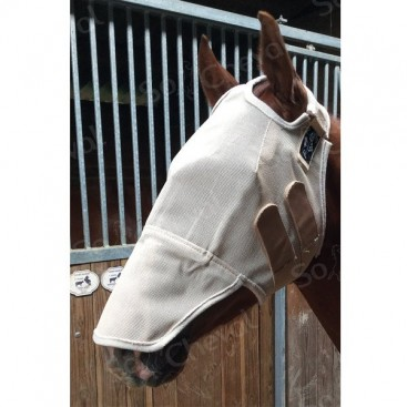 Fly mask sans oreille