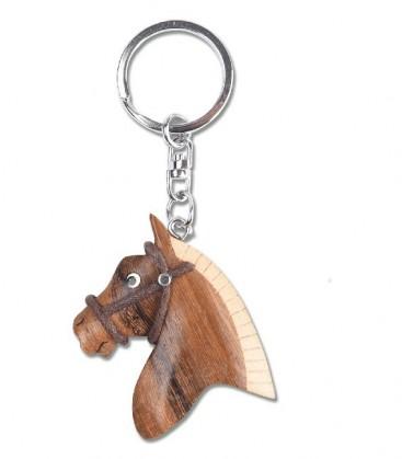PORTE CLÉS tête de poney