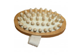Brosse de massage à picot