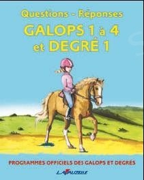 Question/réponse galop 1-4