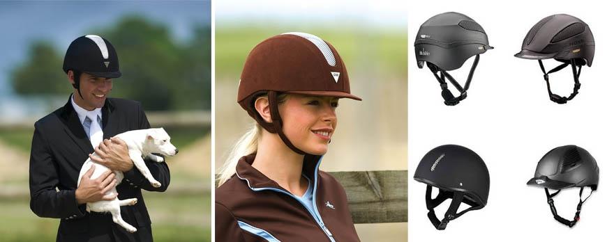 Les casques d'équitation