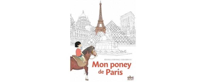 Mon poney de Paris, un album jeunesse plein de poésie pour les petits cavaliers
