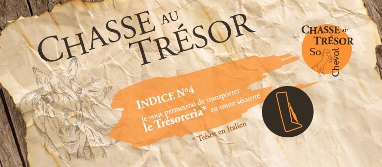 Indice Chasse au Trésor de So Cheval